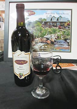 Spring wine tasting in Nevada County