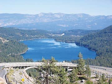 Cycling donner lake to cisco grove tahoe weekly for Donner lake fishing report