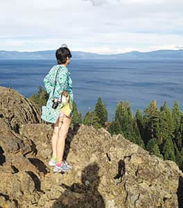 Tahoe Time  |  Panoramic views from Eagle Rock