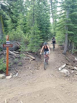 Searching For Single Track At Tahoe Donner Tahoe Weekly